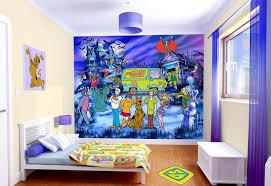 wallpaper kids bedrooms delightful scooby doo wallpaper bedroom 1 cute kids bedroom