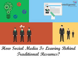 social media is leaving behind traditional resumes