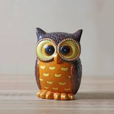 fab ceramic owl coin bank 45 sold vintage i want