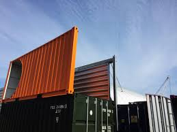 container conversion 20ft converted to 10ft for display purposes