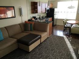 it feels homey great place to stay feels homey and like a small apartment i would