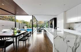 Kitchen Islands Melbourne Houses Gorgeous Marble Kitchen Island Defines The