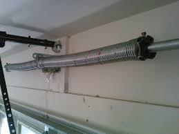 Garage Door Openers Review by Replacing A Garage Door Spring And Genie Garage Door Opener For
