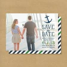 nautical save the date save the date card or it could be used as a thank you card