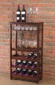 charlton home barstaple 16 bottle floor wine rack u0026 reviews wayfair