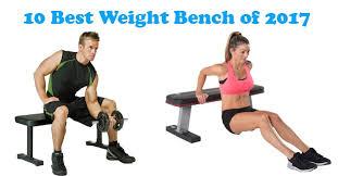 Mercy Weight Bench 10 Best Weight Bench Of 2017 Workoutgadget