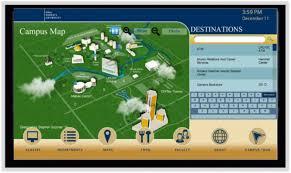Rit Campus Map College Campus Digital Signage Empire Digital Signs
