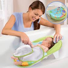 Mit Baby In Badewanne Baby Badewanne Infant Faltbare Duschstuhl Neugeborenes Badewanne