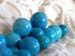 light blue semi precious stone stones