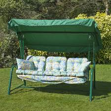 patio swing replacement cushions replacement cushions for 3 seater swing seat or hammock u2013 hammock