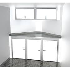 v nose enclosed trailer cabinets sportsman aluminum combination 007 110 moduline cabinets