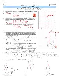 best top vector addition worksheet with answers image library