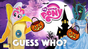my little pony halloween game mlp guess who trick or treat candy