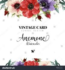 Wedding Greeting Card Greeting Card Watercolor Can Be Used Stock Vector 267383819