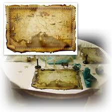 set de table originaux set de table pirates carte au trésor original sets de table papier