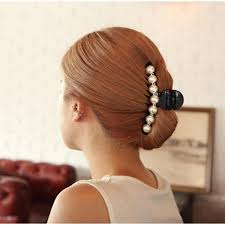 hair barrettes hair accessories imitation pearl hair barrettes