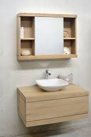 All Wood Vanity For Bathroom by Oak Cadence Vanity Unit By Ethnicraft