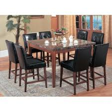 Square Dining Room Table Counter Height Espresso Kitchen U0026 Dining Tables You U0027ll Love Wayfair