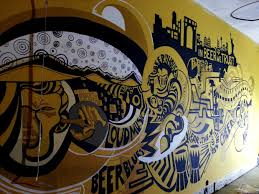 brewhouse wall mural pune india shraddha trivedi undefined