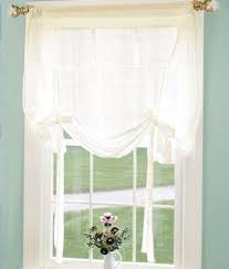 Tie Up Curtain Shade Tie Top Sheer Curtains Semi Sheer Tie Up Curtain For A Simple