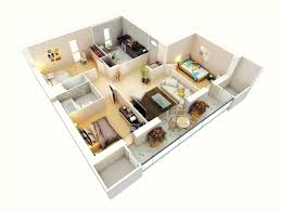 floor and more decor the images collection of plans ground floor 3d plan ideas for