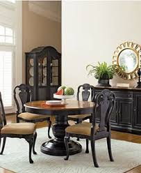 Round Pedestal DIning Table Coventry Dining Room Furniture - Macys dining room furniture