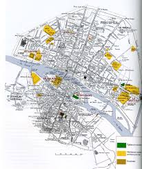 Paris France Map by In The Middle Ages Paris Beginning Originally In The Streets