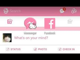 facebook themes and skins for mobile hello kitty facebook and messenger theme tutorial how to download