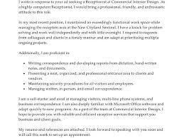 spectacular idea cover letter receptionist 1 best examples cv