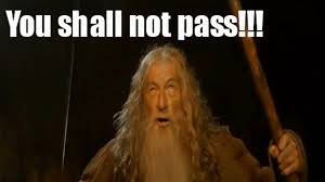 You Shall Not Pass Meme - you shall not pass youtube