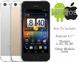 run android on iphone cool looking new idea called iandros new operating system