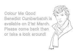 benedict cumberbatch coloring book u2013 we geek girls