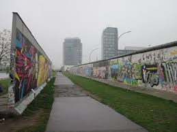 berlin wall sections two sections of the berlin wall with the dead zone picture of