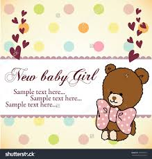 Sample Of An Invitation Card Design Baby Shower Invitations Card Design