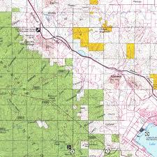 Map Of Riverside Ca Santa Ana Ca Blm Surface Mgmt Digital Data Services Inc
