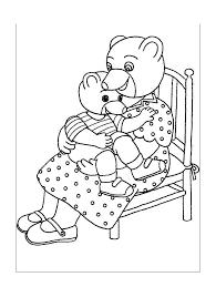 Coloriage Petit ours brun  Coloriages pour enfants