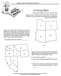 Color In Map Of The United States by Map Coloring