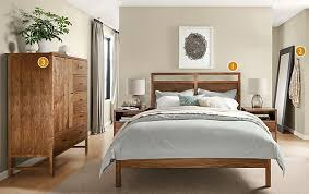 Modern Bedroom Collections Berkeley Bedroom Collection In Walnut Modern Bedroom Furniture
