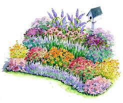 no fuss bird and butterfly garden plan