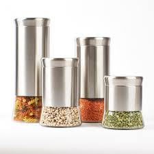 canisters kitchen ksp silo flared canister set kitchen stuff plus