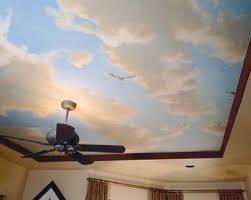 Best  Cloud Ceiling Ideas Only On Pinterest Ceiling Art - Bedroom ceiling paint ideas