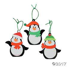 penguin ornament craft kit