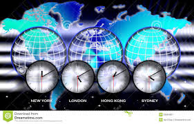United States Map Time Zones by United States Timezone Map Royalty Free Stock Photo Image 4563565