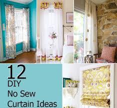 No Curtains Curtains Curtains Or No Decor Home 5 Easy Curtain Ideas Decorate