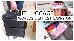lightest cabin bag worlds lightest carry on cabin bag luggage review