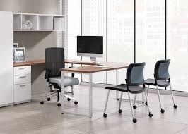 Office Furniture Guest Chairs by Lavoro Guest Chair With Mesh Back Visitors Chairs Side Chairs