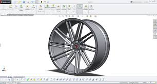 view layout alloy how to model rim in solidworks like a pro youtube