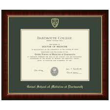 diploma frames murano diploma frame geisel school of medicine at dartmouth