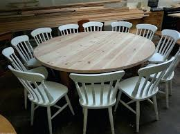 outdoor table that seats 12 large round dining room table inspirational large round dining table