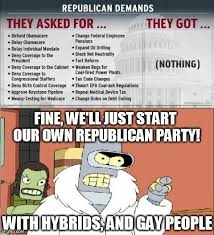 Shutdown Meme - moderates will politely take over the party again 2013 u s